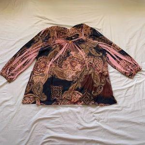 BLEU Woman Pink Blouse